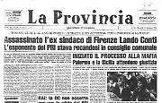 Assassinato l'ex sindaco di Firenze Lando Conti