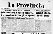 Milano: ad un comizio del M.S.I. bomba a mano uccide un agente