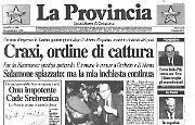 Craxi, ordine di cattura Onu impotente. Cade Srebrenica