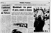 Woodstock: tre giorni di pace, amore e musica