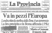 Il Mercoledì Nero: si sfalda il Sistema Monetario Europeo