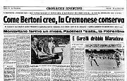 La Cremo sfida il Napoli di Maradona