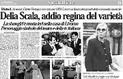 Delia Scala, addio regina del varietà