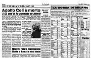 Adolfo Celi è morto