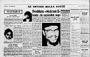 Freddato «Malcom X» leader dei nazionalisti negri