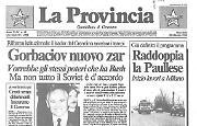 Gorbaciov nuovo zar