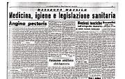 Il Fascismo e la salute pubblica