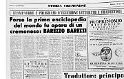 Barezzo Barezzi, cremonese e ideatore della prima enciclopedia del mondo?