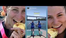 Campionesse olimpiche, la festa di Valentina e Federica dopo la conquista dell'oro