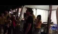Samuele Bersani canta con i volontari del Tanta Robba In The Park