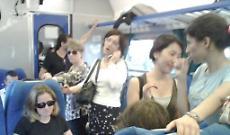 Bloccati sul treno, carrozza come una ghiacciaia