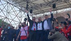 """Sindacati in piazza a Roma contro i fascismi """"Garantire la democrazia"""""""