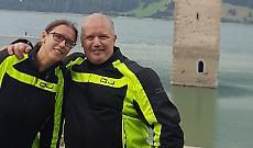 La moto e la montagna: Danilo e Chiara, padre e figlia inseparabili