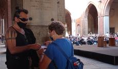 La benedizione laica di Piero Pelù al Porte Aperte festival