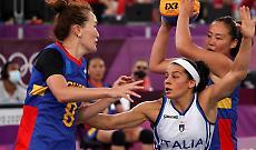 Nazionale 3x3 femminile, mvp la 'cremasca' Rae Lin D'Alie