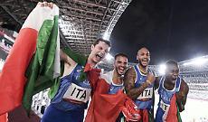 Desalu vince l'oro nella staffetta 4X100