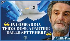 Vaccini: Fontana, pronti per la terza dose dal 20 settembre
