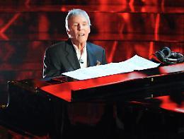 Bacharach: 'Sono sincero nella musica e il pubblico lo avverte'