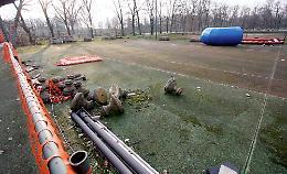 Affidata la gestione dell'area degli ex campi da tennis al Po