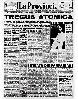 """Giornata storica: accordo dopo 8 anni tra Est e Ovest per una tregua """"atomica"""""""