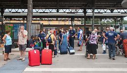 Il treno per Lourdes in ritardo di quattro ore