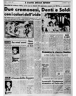 I cremonesi Denti e Soldi campioni del mondo nella cronometro a squadre di ciclismo