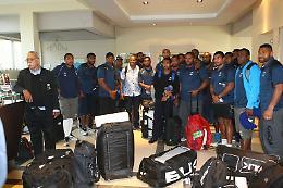 La nazionale delle Isole Fiji sbarca a Cremona