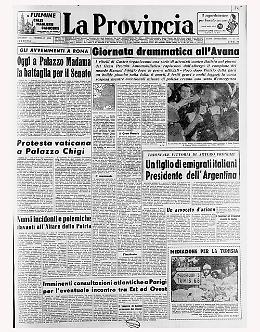Fangio rapito a Cuba, poi un incidente provoca una strage durante la gara