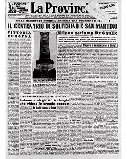 La battaglia di Solferino e San Martino del 1859