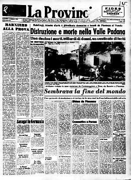La fine del mondo in Valle Padana