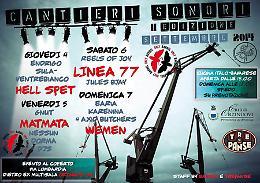 A Orzinuovi (BS) il Festival ''Cantieri Sonori'' 4 - 5 - 6 - 7 settembre