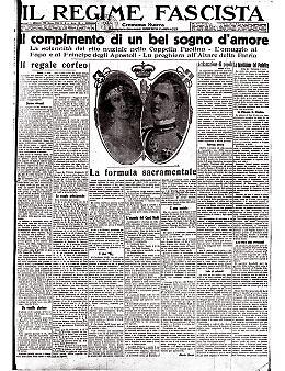 Il principe Umberto di Savoia sposa Maria José del Belgio