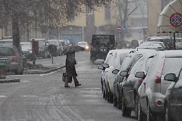 Rischio neve, attese deboli precipitazioni