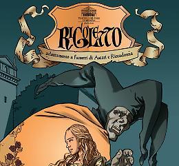"""Il """"Rigoletto"""" di Giuseppe Verdi, a fumetti"""