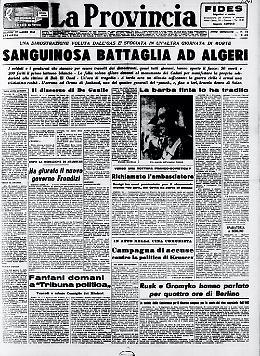 La guerra civile insanguina la città di Algeri