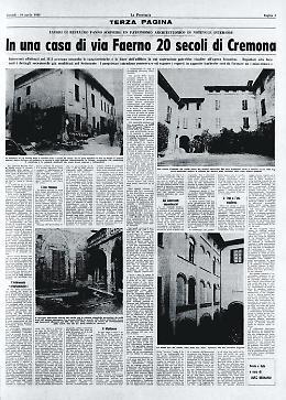 Scoperti durante un restauro venti secoli di storia di Cremona in una sola casa