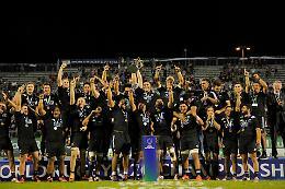 Il mondo del rugby è 'tutto nero'