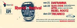 """""""Liberid'in Festival"""" a Provaglio d'Iseo con Tricarico, Diaframma e street performance Dal 21 al 23 agosto"""