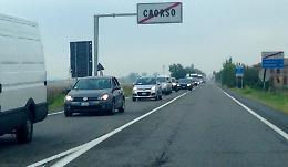 Chiusura strada Padania Inferiore