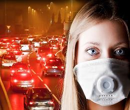 Smog, nel 2020 emissioni ridotte del 64 per cento