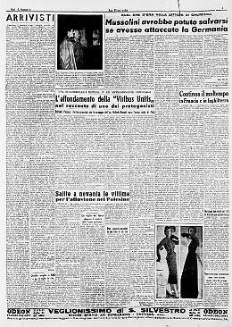 Mussolini avrebbe potuto salvarsi, parola di Churchill