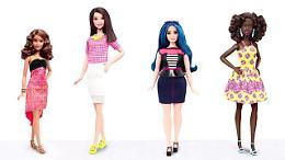 Tall, curvy e petite: tre nuove Barbie per tutti