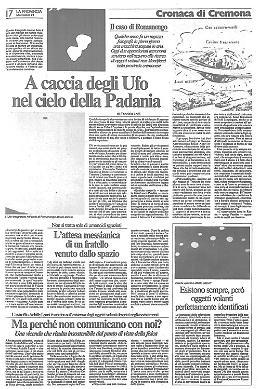 Gli X-Files in provincia di Cremona