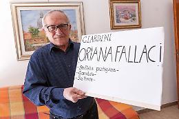 Ecco la contro-targa per Oriana Fallaci
