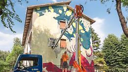"""Murales, """"Ma è Porte aperte festival"""""""