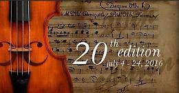 Numerosi talenti alla ventesima edizione del Casalmaggiore International Music Festival