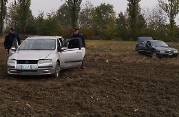 Banda del bancomat, auto rubate abbandonate dopo il colpo