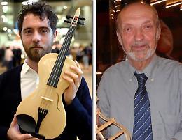 Violino di seta di ragno premiato a Londra