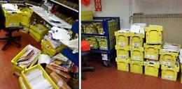 A Peschiera 1.500 tonnellate di posta abbandonata