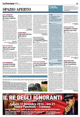 Lettere al giornale